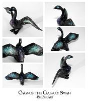 Cygnus the Galaxy Swan by BeeZee-Art