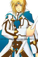 KY Kiske from Guilty Gear by dakkisoh