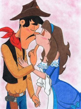 William and Valery - Kiss me, cowboy!!! by Missvale94