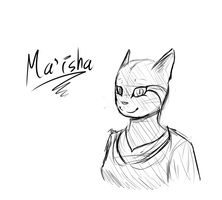 Ma'isha sketch by TheSilverPie