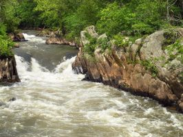 Great Falls of the Potomac 17 by Dracoart-Stock