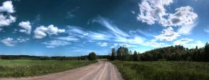 Rural Finland panorama repost by Jc428
