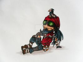 Mordy and Bloodwing Jr. by SophiaDragonMaster