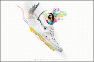 Converse Chucks High Airlines by mehmetkitoglou