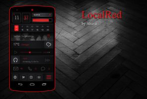 Local Red Zooper theme by homebridge