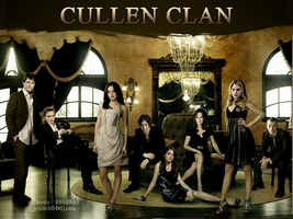 Cullen Clan by alexaelizabethelise