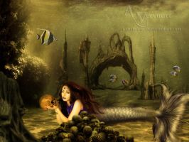 The Mermaid Catch by annemaria48