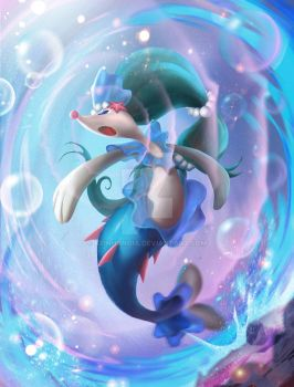 Primarina - Popplio offical final evolution by KeiNhanGia