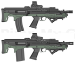 Type 109 and Type 110 by GunFreakFin