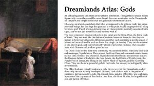 Dreamlands Atlas: Gods by TeamGirl-Differel