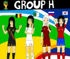 Worldcup Brazil 2014 Group H by SILENTWARRIOR3800