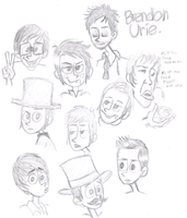 the many faces of Bden by ichadoggi