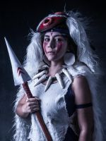 San from Princess Mononoke Cosplay by Reneks