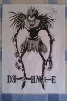 My drawings: Death Note, shinigami Ryuk by Yonato