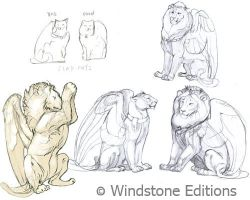 Flion Flapcat sketches by Reptangle