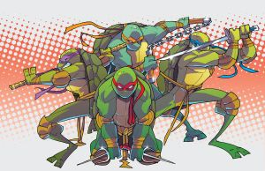 TURTLES COLORED by BTURNERart