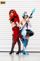 Velvet and Gwendolyn - Odin Sphere by Paper-Cube