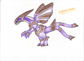 Darkogon : The Black Hole fakemon by narupit