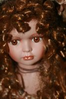 Doll in porcellain by Neveryph-stock