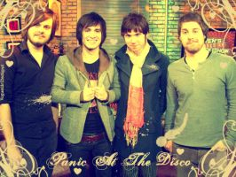 Panic At The Disco - Vintage by VogueGirlDesigns