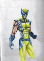 wolverine first part by HaybailScott