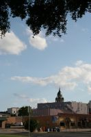 Courthouse from Afar by Dramier