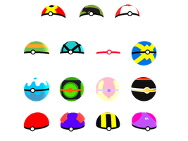 Pokeball Collection :Download: by SureinDragon