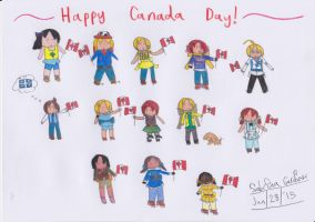 (IAMP) Happy Canada Day! 2015 by TheRealCanadianBoys