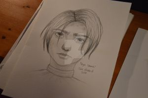 It was supposed to be Arya, hahah by MiniBananaFace