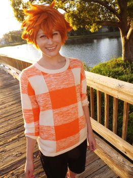Hinata wig try No. II by 0Charcoal0