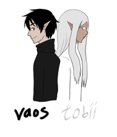 Tobii And Vaos by moonlightartistry