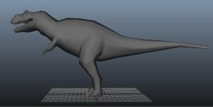 Trex side by Raylouwolf