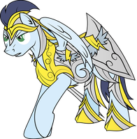 Knight Soarin by Rusilis