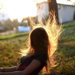and then my hair falls by Rona-Keller