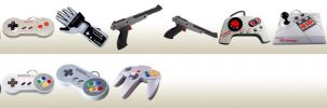 Nintendo Classic Controllers by mseeley