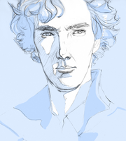 Sherlock by kiwifairy