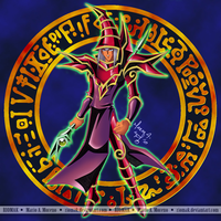 Dark Magician - Red -  Pandora by Riomak