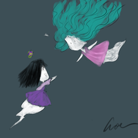 Two ghosts reuniting once again. by Differshipping