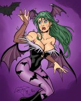 Morrigan Color Test by TheCosbinator