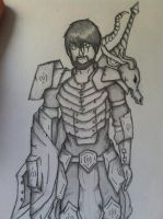 chuck norris protects armour... by Lonewolf23pro