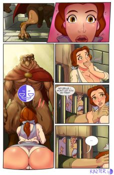 booty and the beast page 3 by razterize