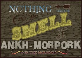 The smell of Ankh-Morpork by funkydpression