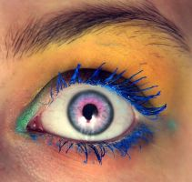 Blue lash by d4doggy