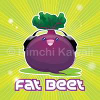 The Fat Beet by kimchikawaii