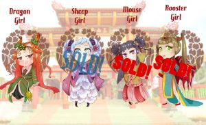 CHINESE_ZODIAC_ADOPTS_OPEN! by NoirDamiselle