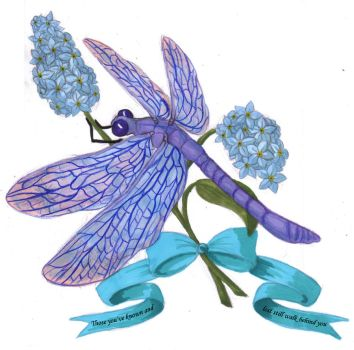 Tattoo Design: Dragonfly by TresMaxwell