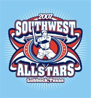 southwest all stars shirt by Satansgoalie