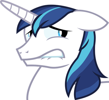Shining Armor - Oh this is Bad. by Firestorm-CAN