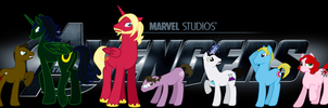 Avenger Ponies by Silver-Fox17