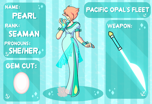 Application for Pacific Opal's Fleet -- PEARL by GLiTCH-R